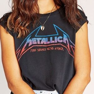 NWT DAYDREAMER Metallica Graphic Tee